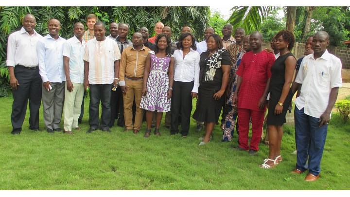 Benin - project team